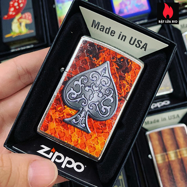Zippo 207 Ace Desgin
