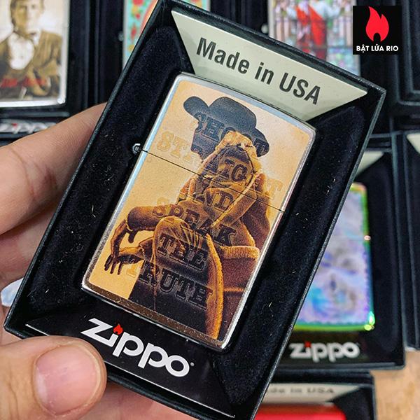 Zippo 207 Cowboy Resting