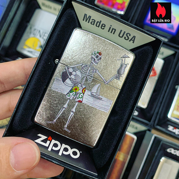 Zippo 207 Day Of The Dead Couple 1