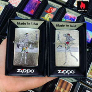 Zippo 207 Day Of The Dead Couple