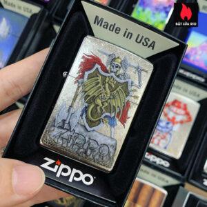 Zippo 207 Dragon Shield