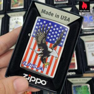 Zippo 207 Eagle Flag USA