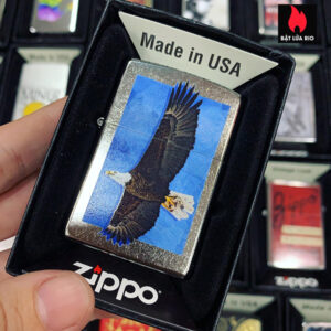 Zippo 207 Eagle Street Chrome