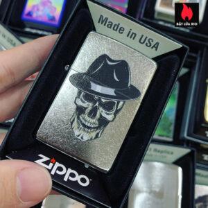 Zippo 207 Mobster Skull