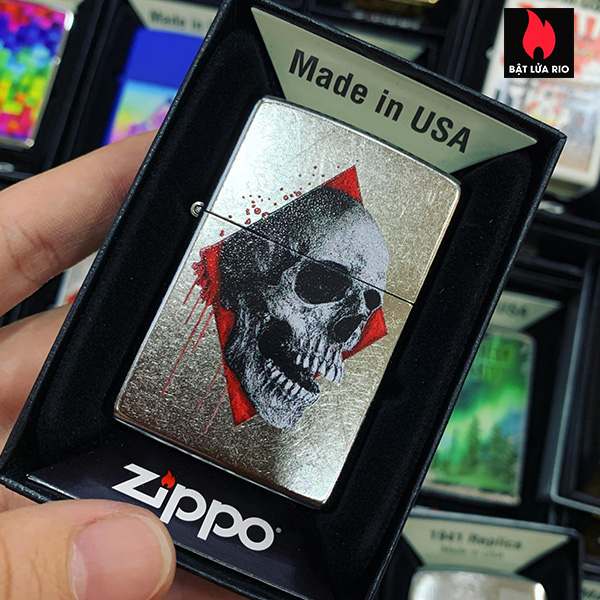 Zippo 207 Skull Design