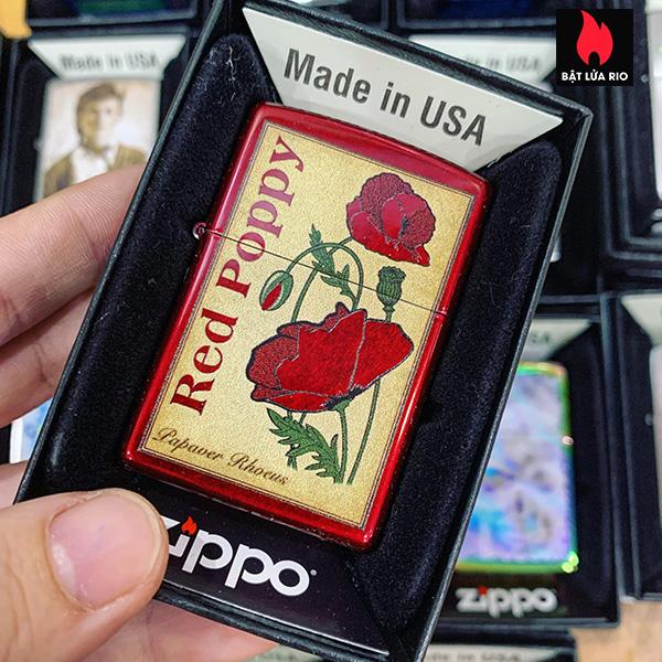 Zippo 21063 Poppy Design