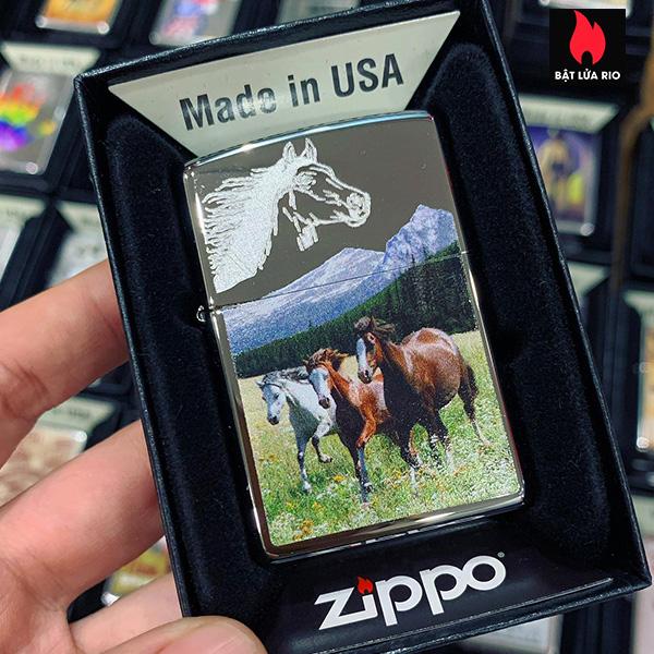 Zippo 250 Horses 1