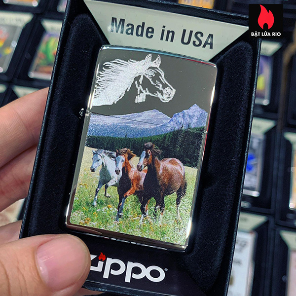 Zippo 250 Horses 2