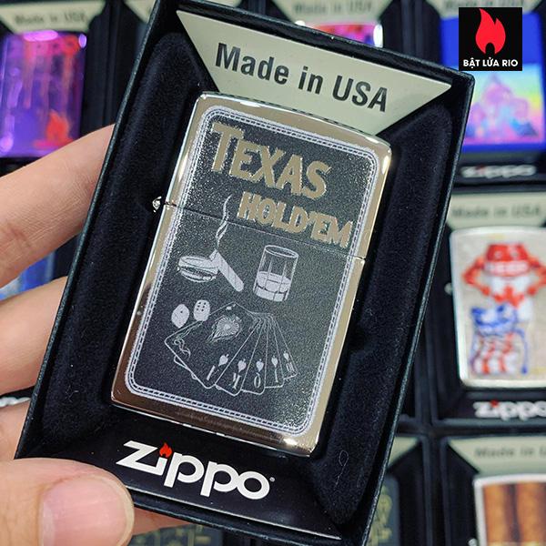 Zippo 250 Texas Hold'em
