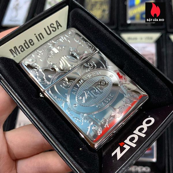 Zippo 250 Zippo American Classic Auto Engrave 1