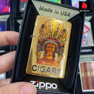 Zippo 254B Cigar Indian