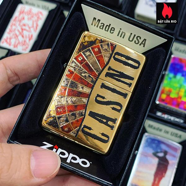 Zippo 254B Fuzion Gambling