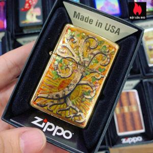 Zippo 254B Fuzion Tree Of Life