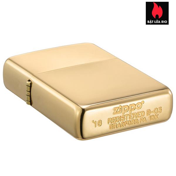 Zippo 195 - Zippo 18 Kt. Solid Gold 6