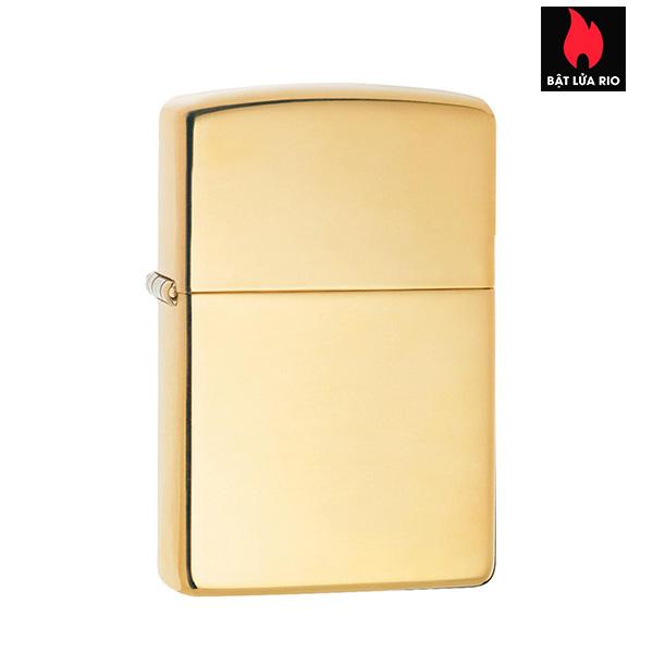 Zippo 195 - Zippo 18 Kt. Solid Gold