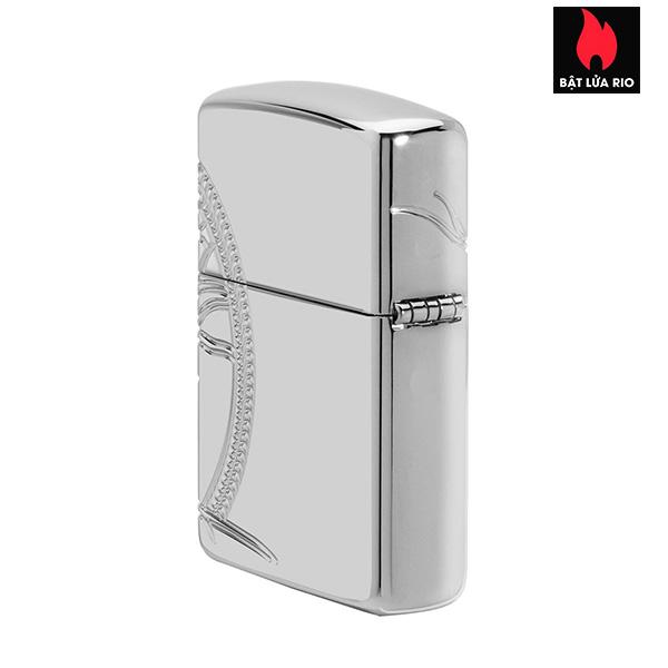Zippo 49552 - Zippo Armor® High Polish Sterling Silver Tree of Life 6