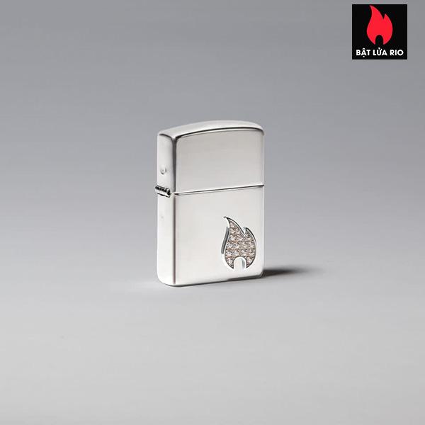 Zippo 49554 - Zippo Armor® Sterling Silver Flame Emblem 1