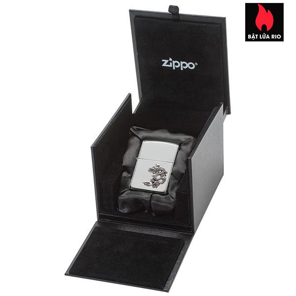 Zippo 49555 - Zippo Armor® Chinese Dragon Sterling Silver Emblem 2