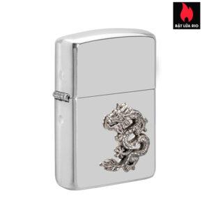 Zippo 49555 - Zippo Armor® Chinese Dragon Sterling Silver Emblem